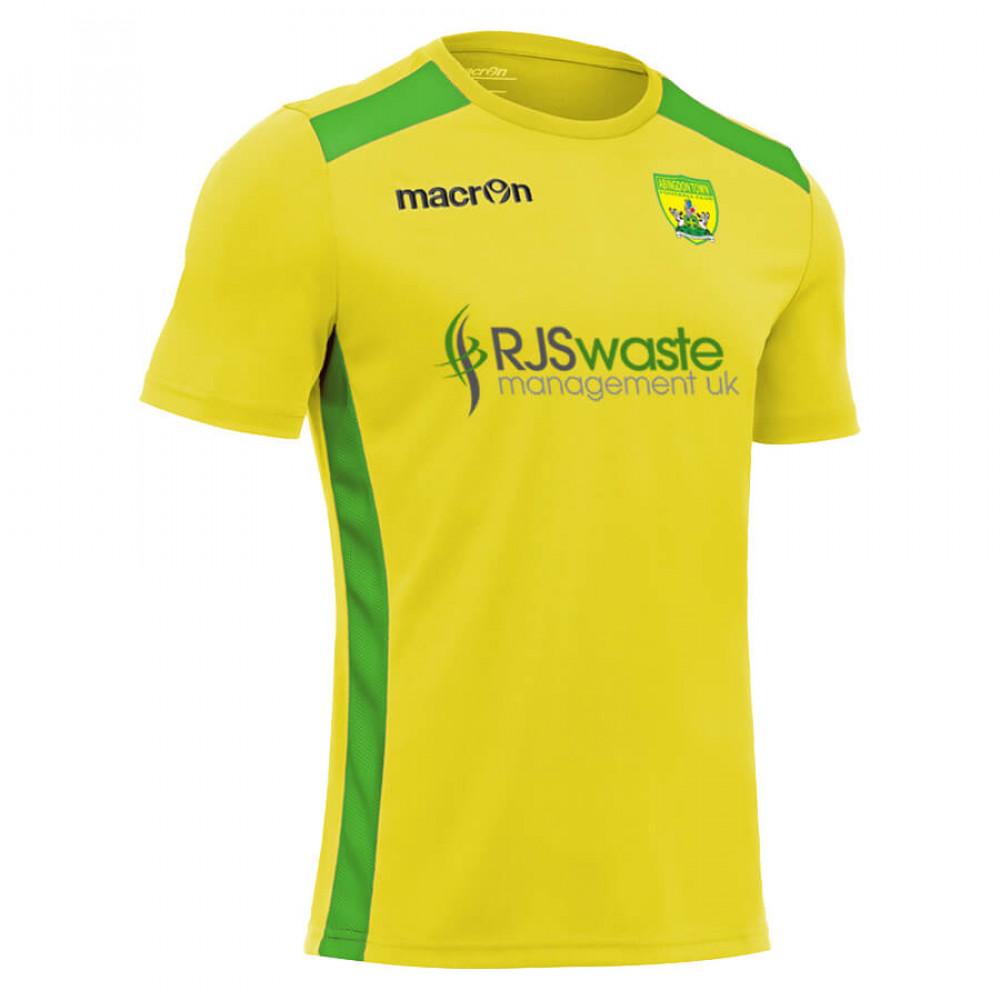 Abingdon Town - Home Shirt (Yellow / Green)