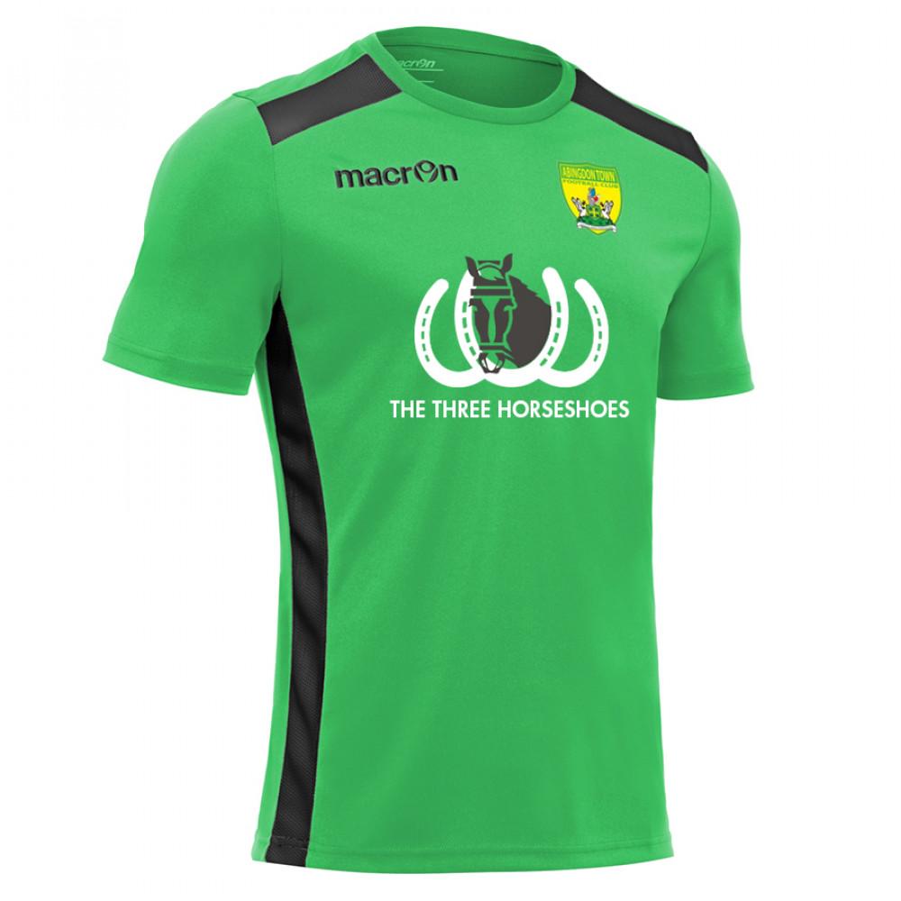 Abingdon Town - Away Shirt (Green / Black) Kids