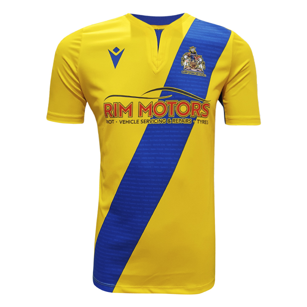 Barry Town United AFC - Home Shirt 20/21 Kids