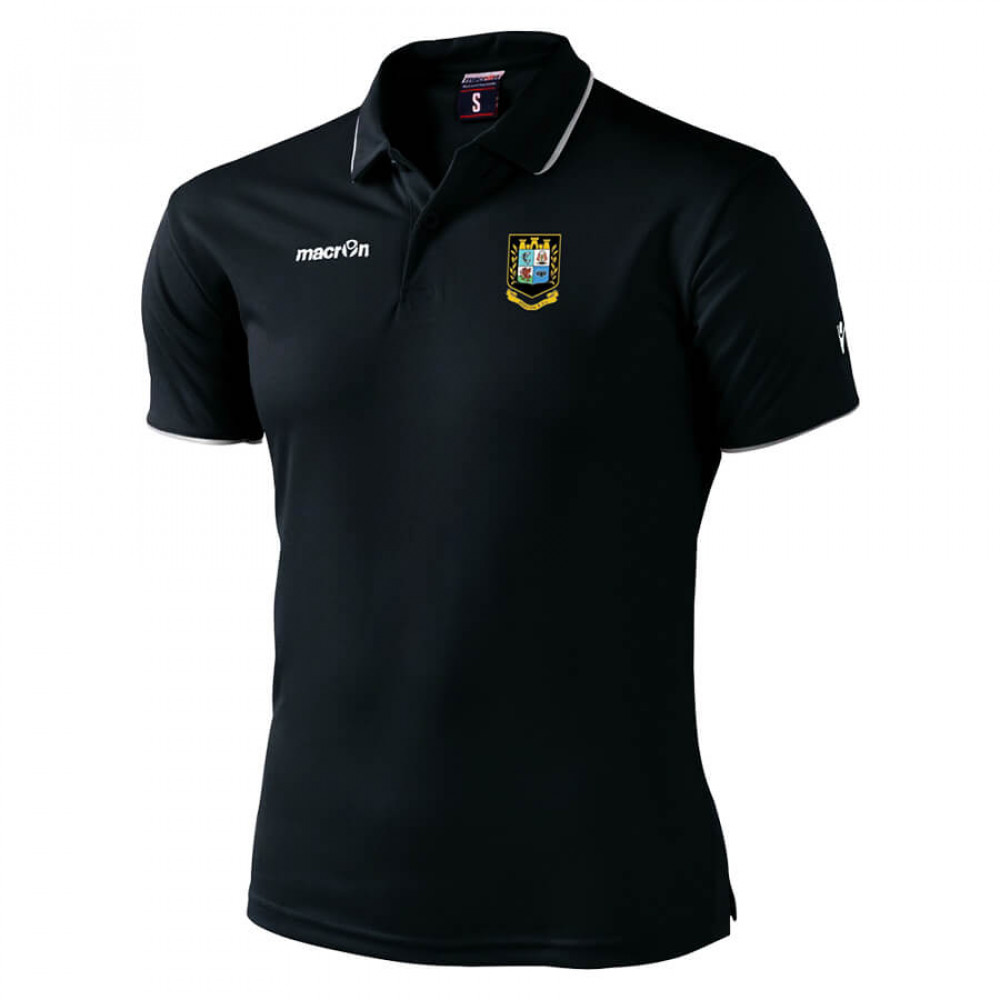 Brecon RFC - Draco Polo (Black)