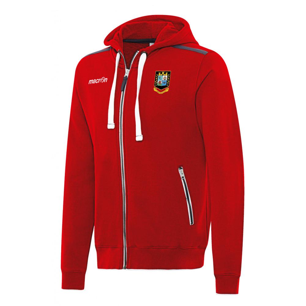 Brecon RFC - Motown Hoody (Red)