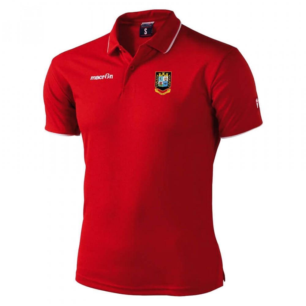 Brecon RFC - Draco Polo (Red)