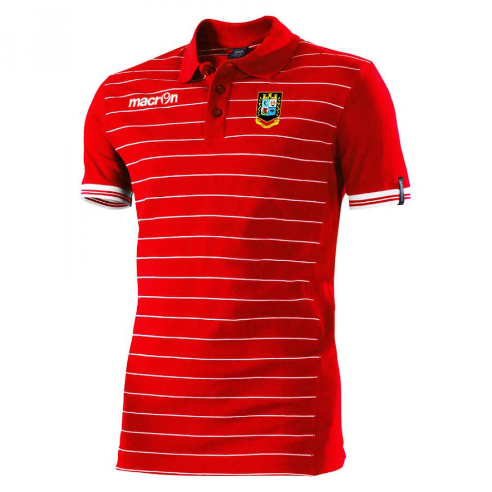 Brecon RFC - Jungle Polo (Red)