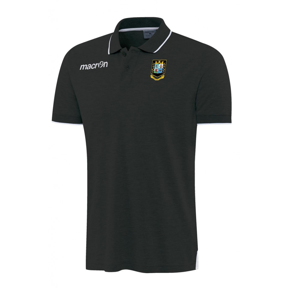 Brecon RFC - Zouk Polo (Black)
