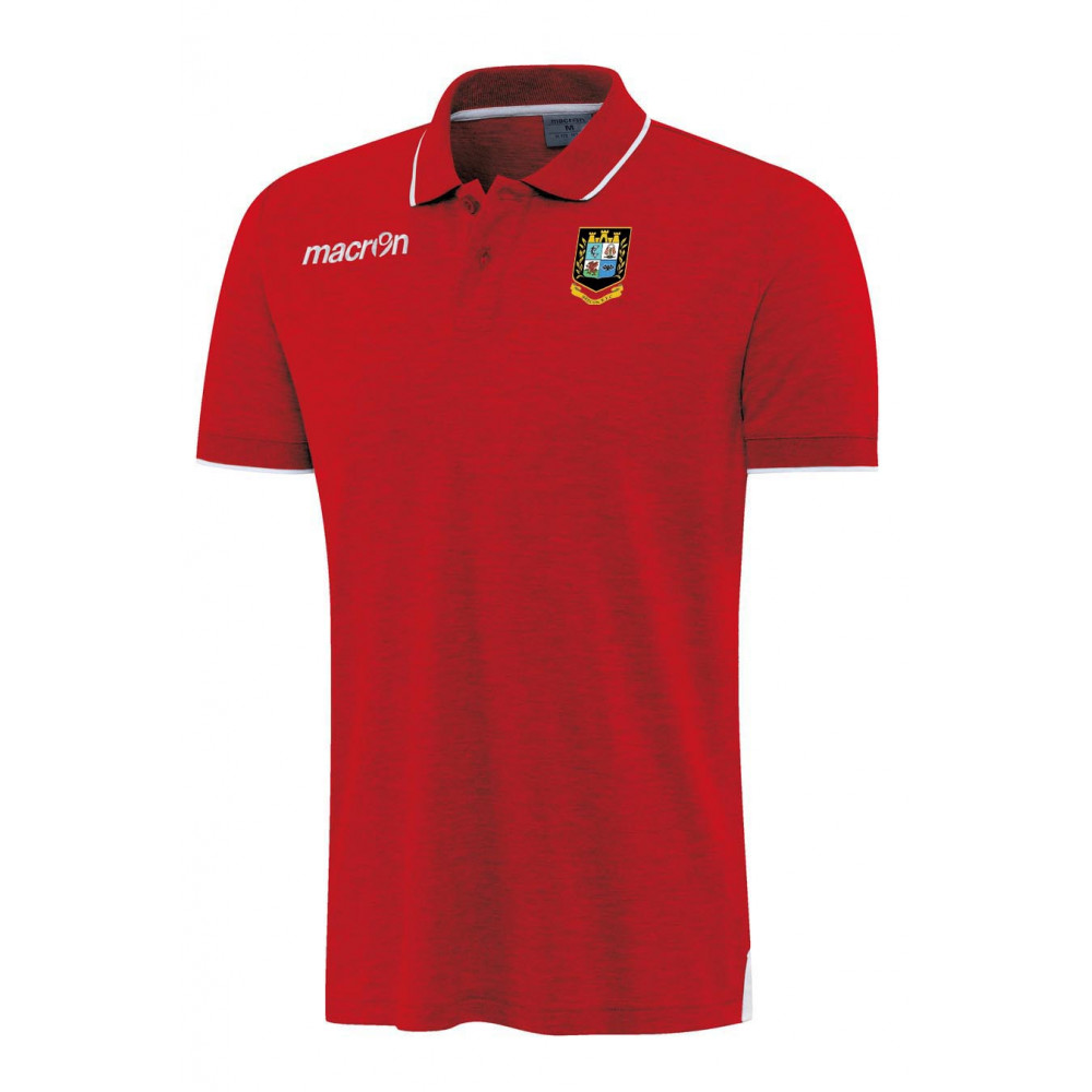 Brecon RFC - Zouk Polo (Red)