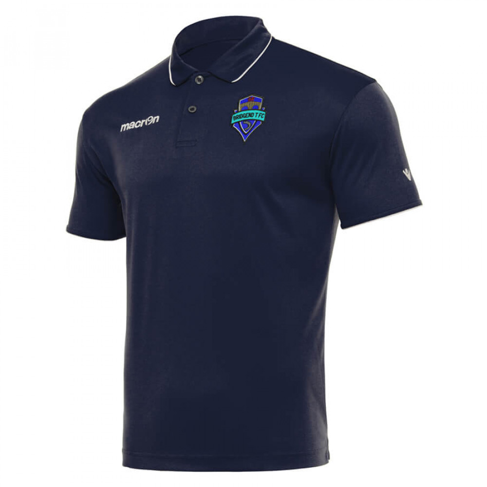 Bridgend T FC - Draco Polo (Navy)