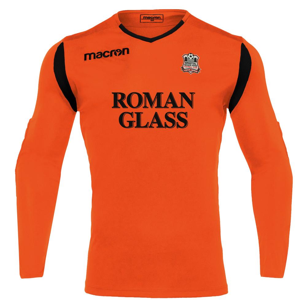 Birstol Manor Farm FC - GK Away Shirt (Neon Orange) 21/22