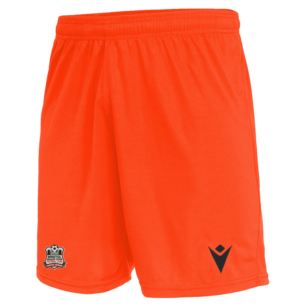 Birstol Manor Farm FC - GK Away Shorts (Neon Orange) 21/22