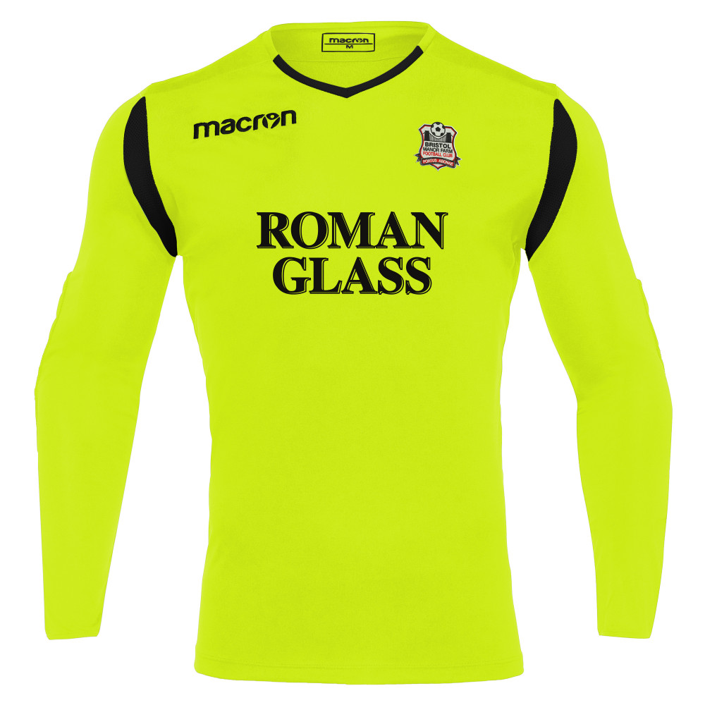 Birstol Manor Farm FC - GK Home Shirt (Neon Yellow) 21/22