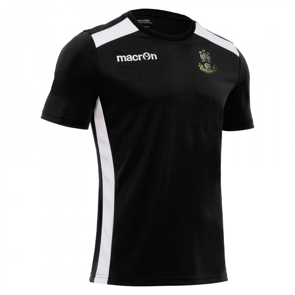 Caerleon FC - Sirius Shirt (Black)