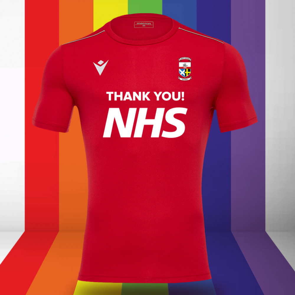 Cardiff Northern Old Boys - NHS Support Shirt (Red) Kids