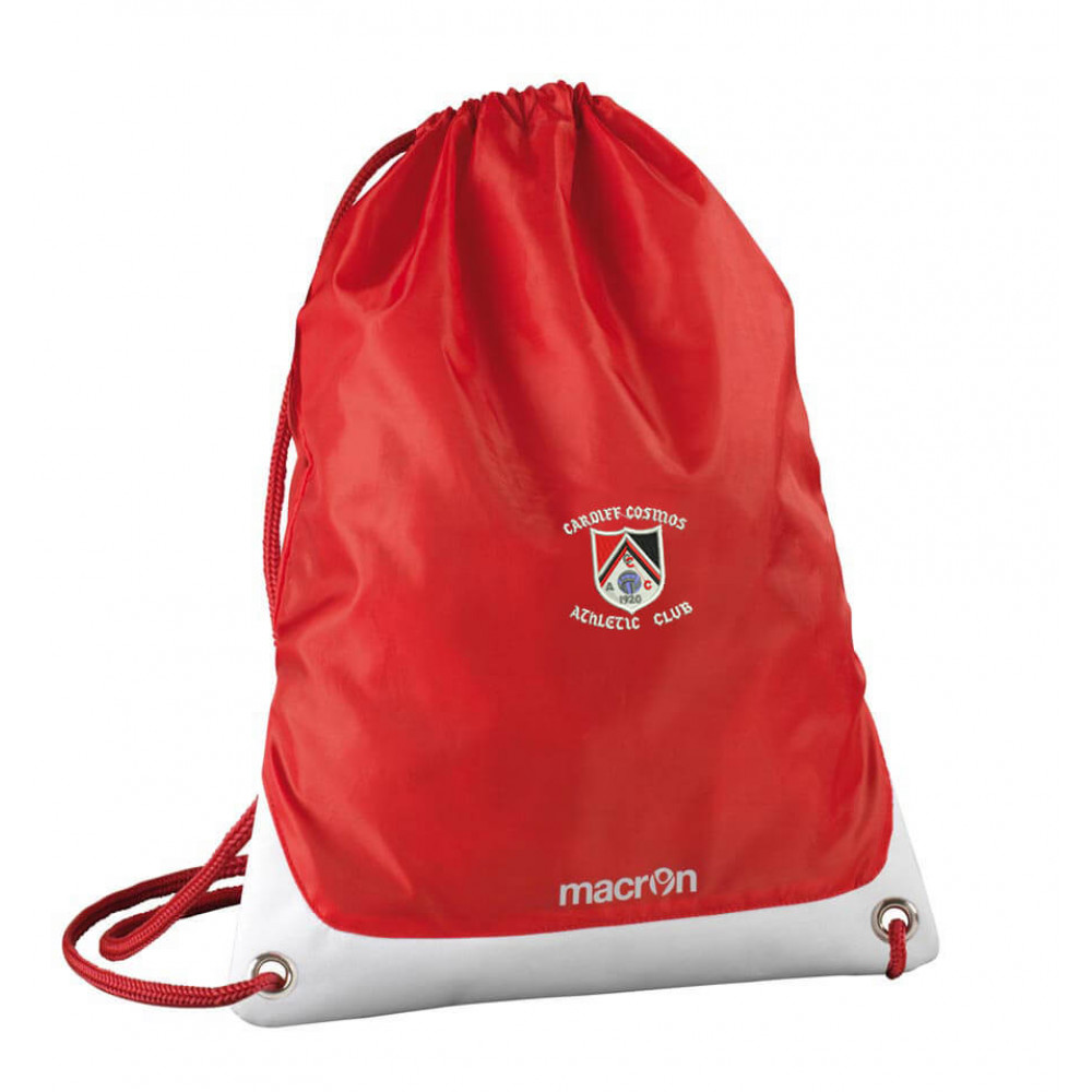 Cardiff Cosmos Athletic - Campus Gym Sack (Red)