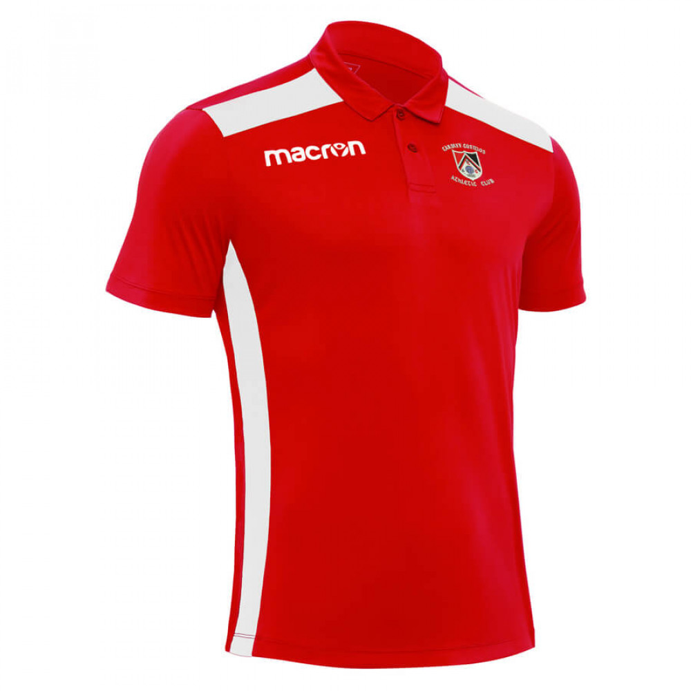Cardiff Cosmos Athletic - Folk Polo (Red) Kids