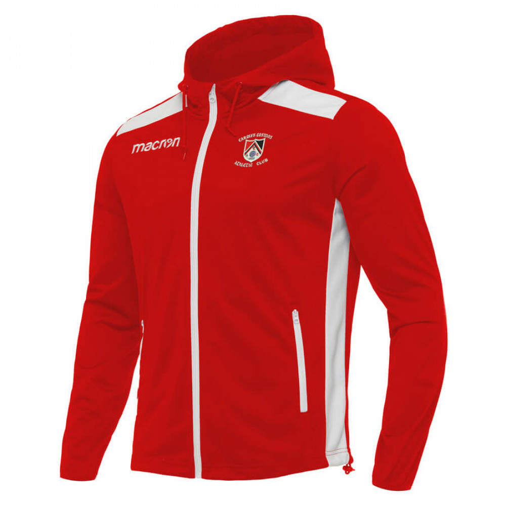 Cardiff Cosmos Athletic - Pan Hoody (Red)