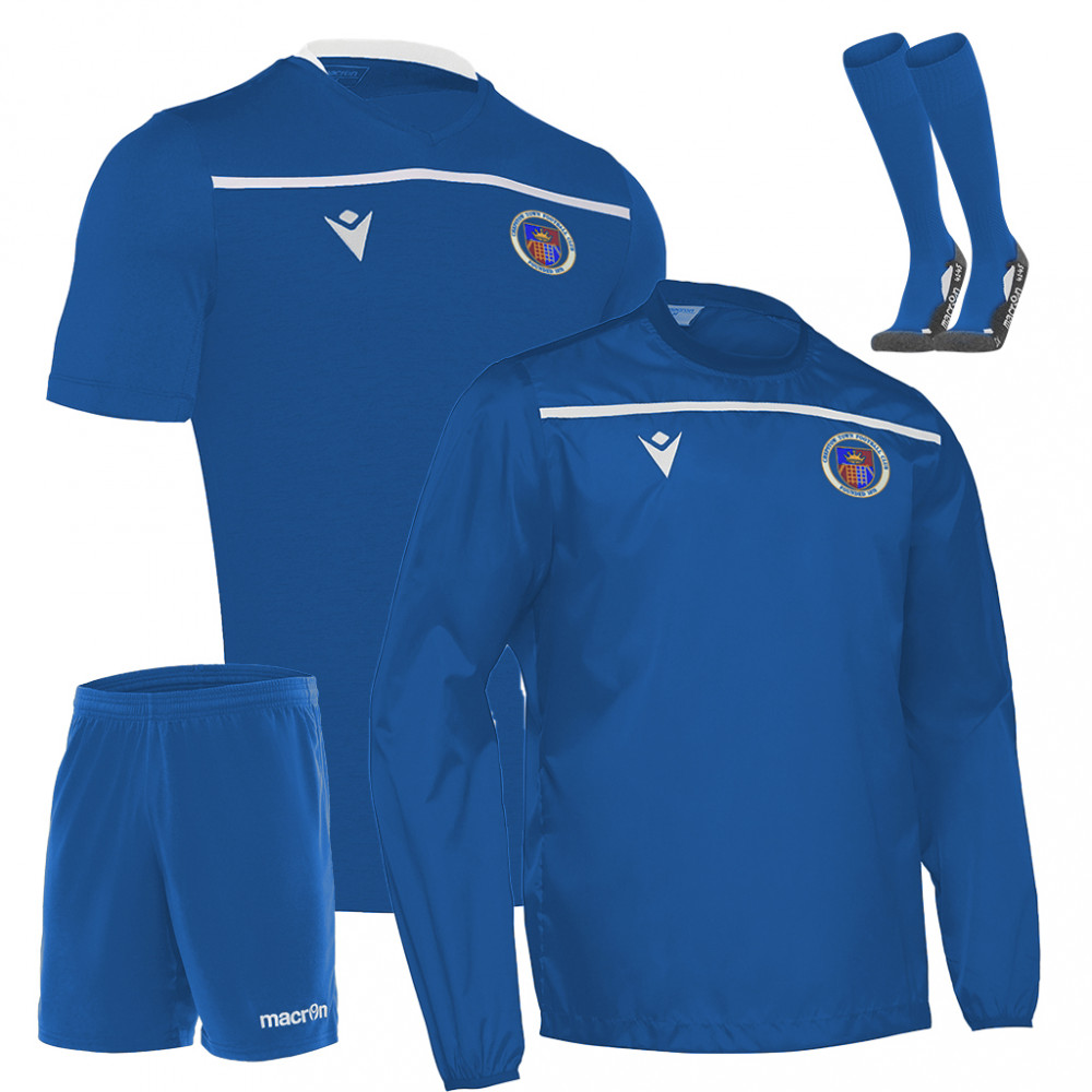 Chepstow Town - Pack 2 (Royal Blue) Kids