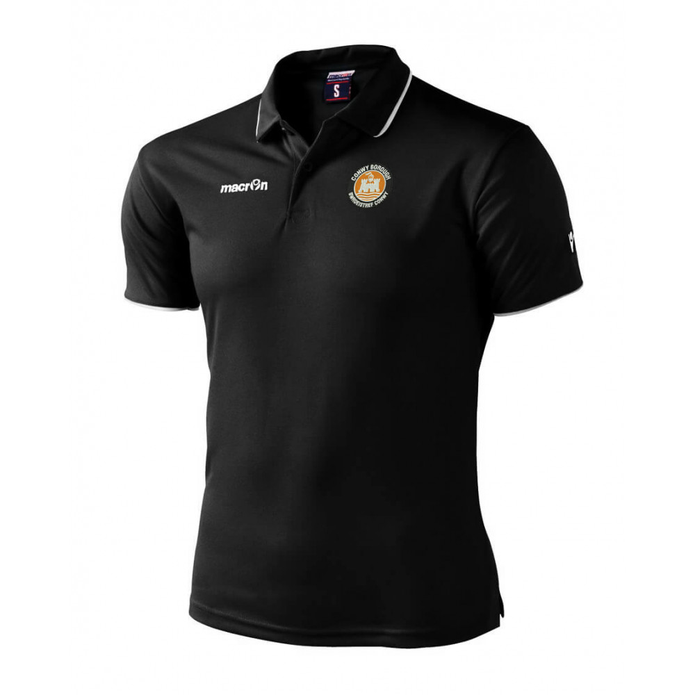 Conwy Borough - Draco Polo (Black)