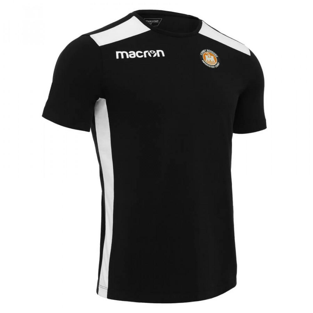 Conwy Borough - Flute T-Shirt (Black)