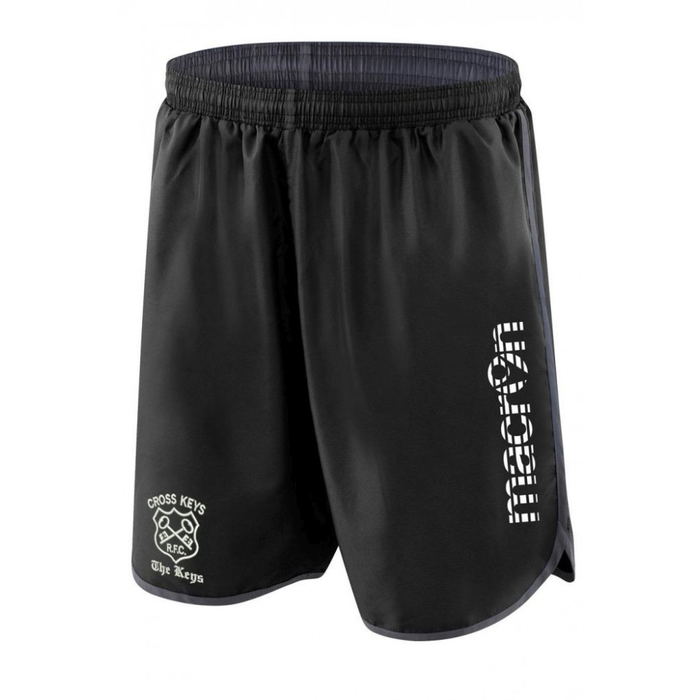 Cross Keys RFC - Bazalt Shorts (Black)