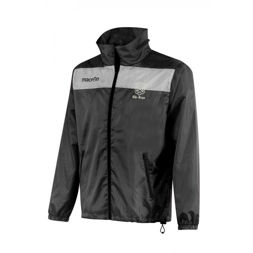 Cross Keys RFC - Nassau Windbreaker (Black)