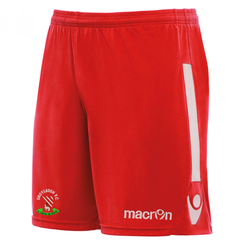 Droylsden FC - Elbe Shorts (Red) Kids