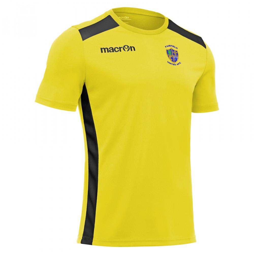 Fairfield United - Sirius Away Shirt (Yellow / Black) Kids