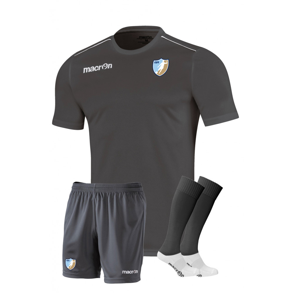 Fundamental Sports - GK Kit Set S/S (Anthracite)