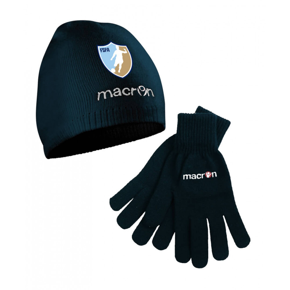 Fundamental Sports - Hat & Gloves (Navy)
