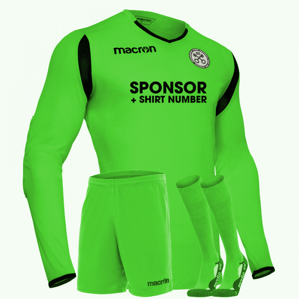 Hednesford Town Youth - Away GK Kit Green (19/20)