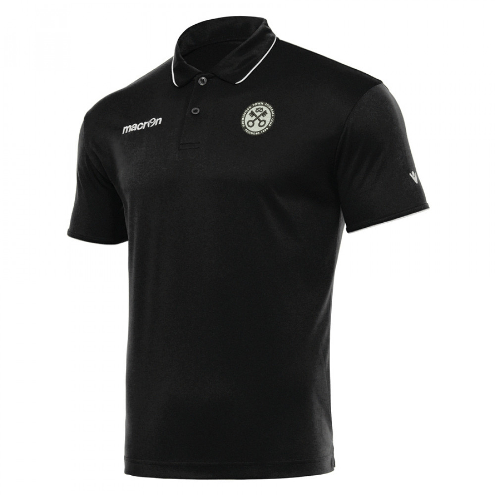 Hednesford Town Youth - Draco Polo (Black) Kids