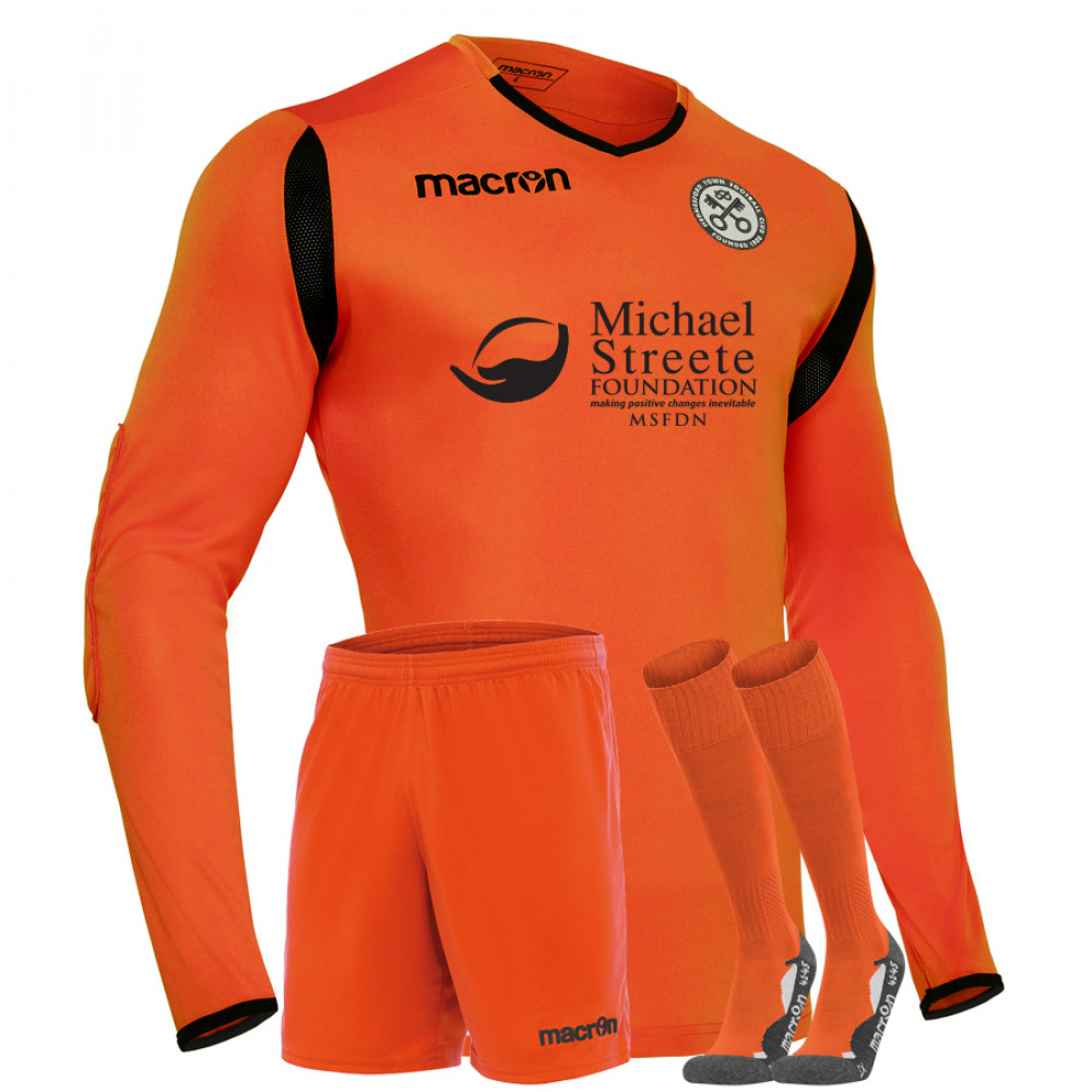 Hednesford Town Youth - Home GK Kit Orange (19/20)