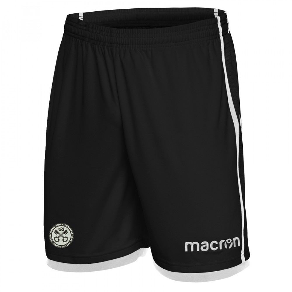 Hednesford Town FC - Home Shorts (Black / White)