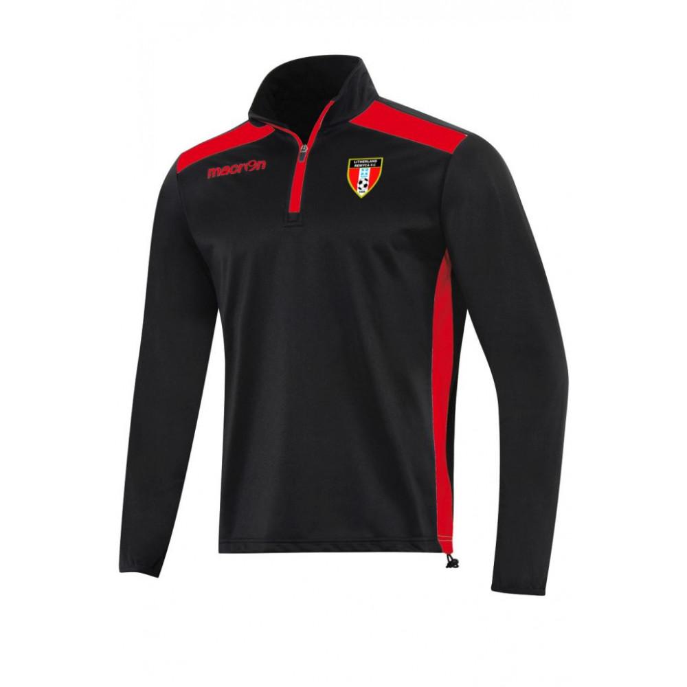 Litherland Remyca FC - Tarim Jacket (Black / Red)