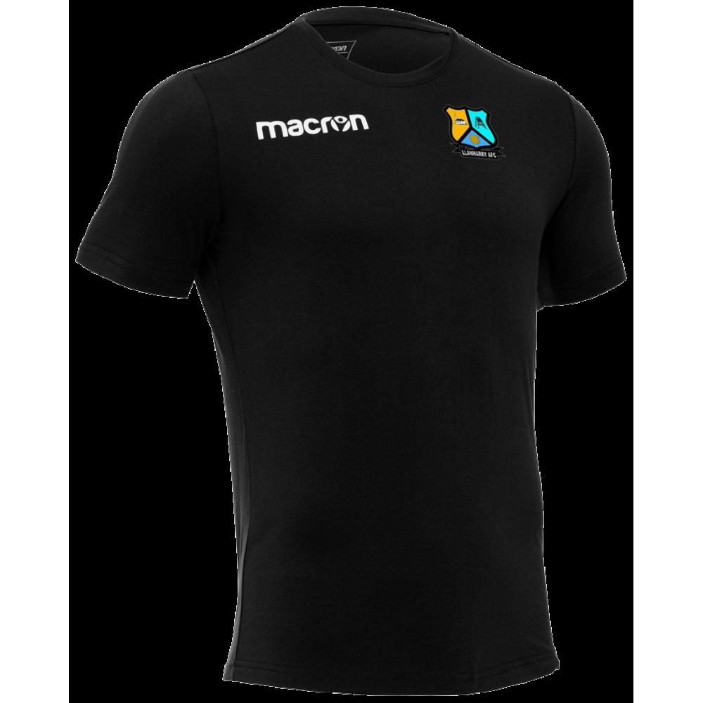 Llanharry AFC - Coach Boost T-Shirt (Black) Kids