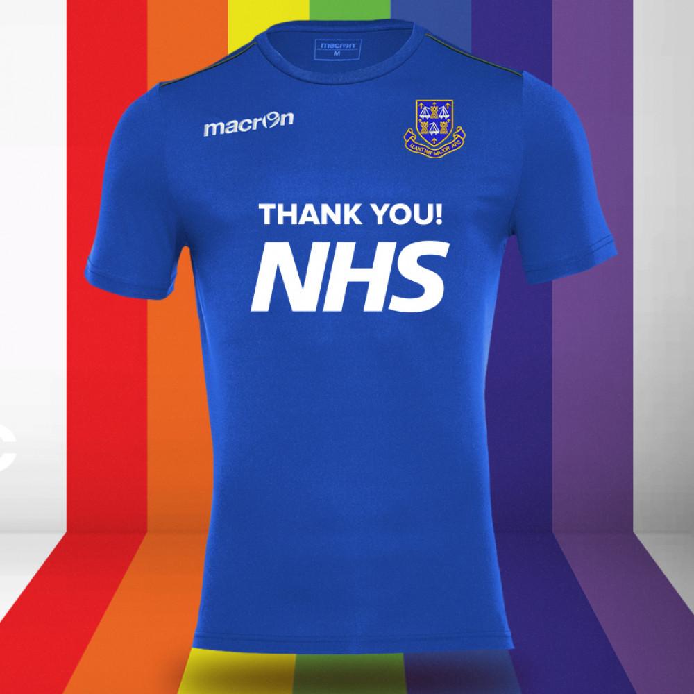 Llantwit Major AFC - NHS Support Shirt (Royal)