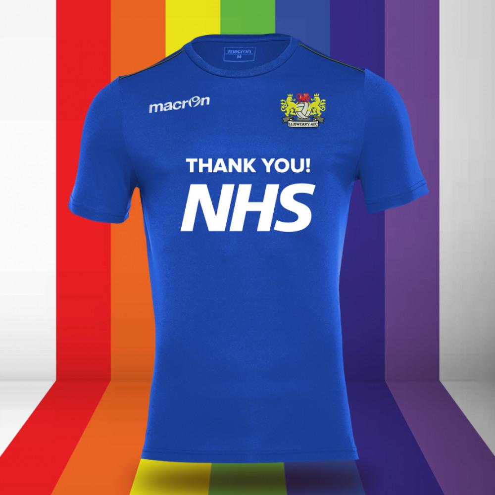 Lliswerry AFC - NHS Support Shirt (Royal) Kids