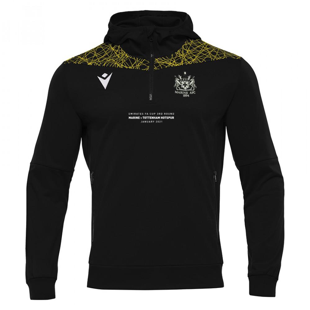 Marine FC - FA CUP Ishtar Hoodie (Black/Yellow)