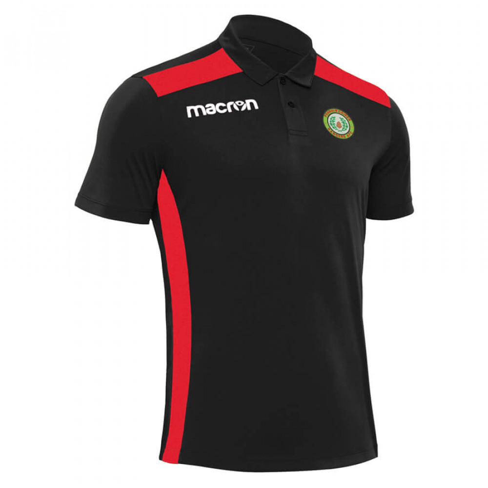Penrhiwceiber Rangers - Folk Polo (Black / Red)