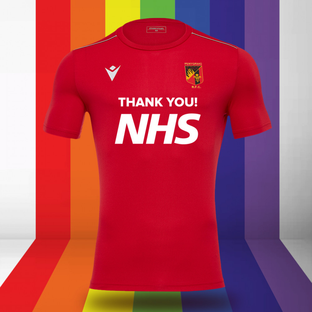 Penygraig RFC - NHS Support Shirt (Red)