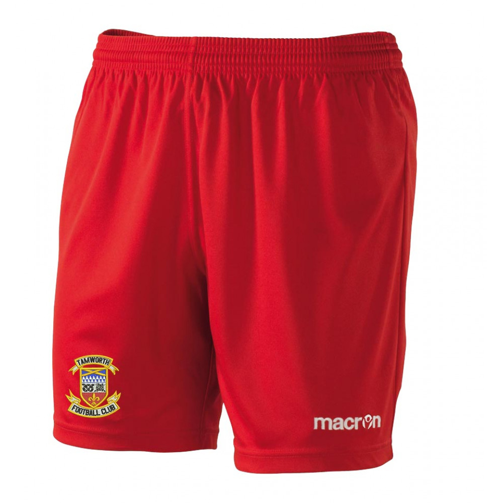 Tamworth FC - Mesa Shorts (Red)