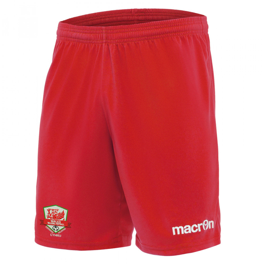 Wales Walking Football - Shorts (Red)