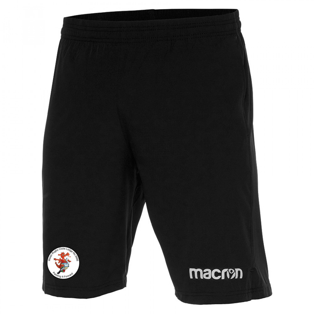 Welsh Freemasons RFC - Reggae Shorts (Black)